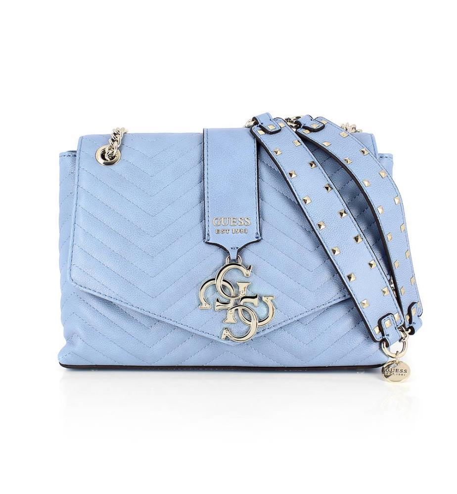 a835af29f9 Sac à Main Violet - Bleu Clair - Collection Violet - Guess - Accueil