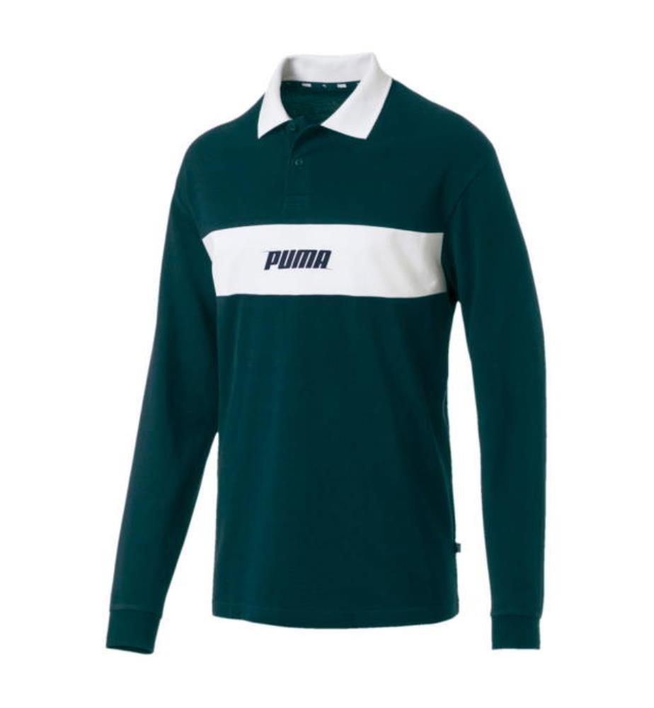 Puma Homme Shirt Vert T Orange N0wmvOn8