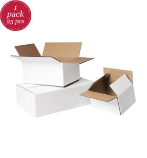 Faltkartons einwellig, 390 x 290 x 184 mm, 25 Stück