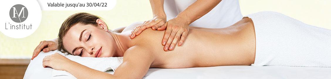 1, 3 ou 5 massages thérapeutiques